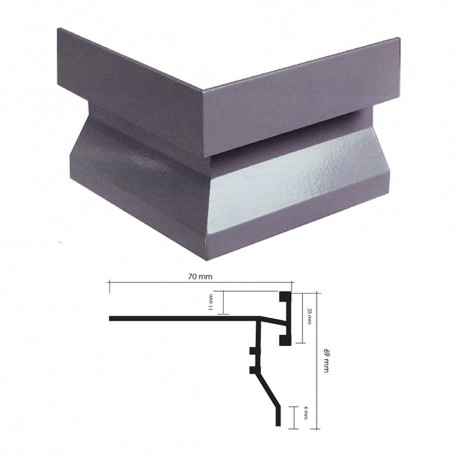 Profilo Perimetrale Per Balconi New
