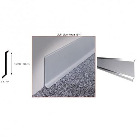 Battiscopa Alluminio E Acciaio