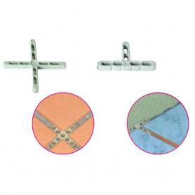 Distanziatori A Croce E Mezza Croce Per Pavimento E Rivestimento (Blitz da 250 PZ.)