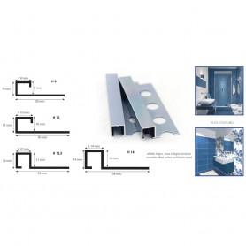 Profilo Quadro Alluminio Anodizzato Avion Chiaro