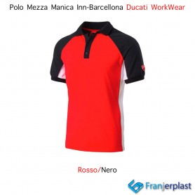 Polo Mezza Manica Inn-Barcellona WorkWear