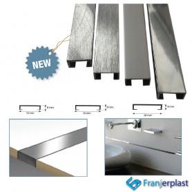 Listello In Alluminio Modello Squadrato
